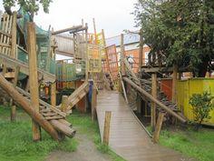 Adventure playgrounds around the world