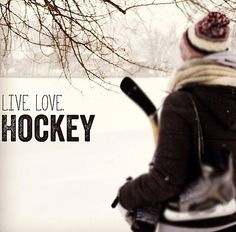 Hockey♥ pond hockey... the best!
