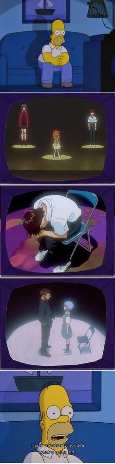 Neon Genesis Evangelion- jajajajaj te creo, estaba igual