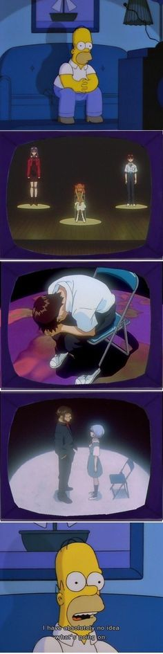 Neon Genesis Evangelion- Yes! This was me while watching that... I'm glad I'm not the only one.