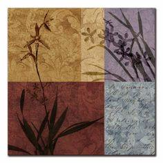 12855 / Cuadro Floral &Still life Refrain I