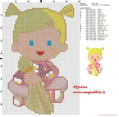 Gemaakt door een fan: een borduur-patroon van Chloe!