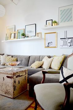 """Résultat de recherche d'images pour """"inspiration pinterest ikea shelves ekby living room"""""""