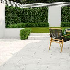 PorcelPave Athena External Porcelain - Porcelain Paving & Installation Products | Green Garden Paving Outdoor Paving, Outdoor Tiles, Outdoor Gardens, Outside Flooring, Patio Flooring, Garden Floor, Garden Paving, Back Garden Design, Yard Design
