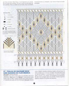 Revista de barrados de Macramê - Mariangela Maciel - Álbumes web de Picasa
