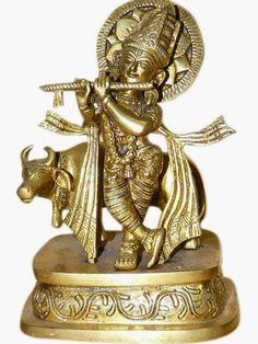 https://www.etsy.com/listing/199289790/lord-krishna-brass-statue-playing-flute?