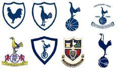 Tottenham Hotspur FC ~ Badges through the years First Football, Football Kits, College Football, Tottenham Hotspur Football, Image Foot, London Football, Spurs Fans, Blackburn Rovers, Fc Chelsea