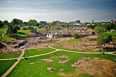 View of Sioux Falls.