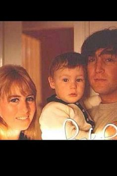 Cynthia Powell-Lennon♥♥Julian Lennon♥♥John W. O. Lennon