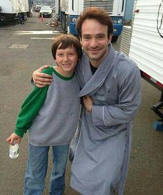 Awww Big Matt and Little Matt, how cute ❤