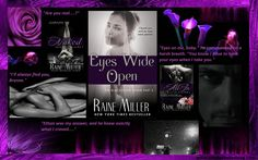 EYES WIDE OPEN (The Blackstone Affair #3) by RAINE MILLER - REVIEW & AWESOME GIVEAWAY