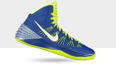 Nike Hyperdunk Mens Basketball Shoes - Customize With NikeID  http://coolpile.com/sports-magazine/nike-hyperdunk-mens-basketball-shoes/  via CoolPile.com - $190 -  Basketball, Cool, Nike, Nike.com, Shoes, Sneakers, Sport Shoes, Sports, Style