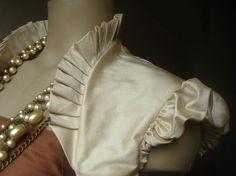 Items similar to Agnes beige dupioni silk shrug all colours on Etsy.  TedFeminineWedding DressWomen sBridle DressBridal ... d66326fc7124