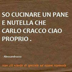 Non voglio vantarmi ma ragazzi, è proprio così #humor #meme #italian #cooking