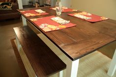 Knocked Off: Farmhouse Table » Killer b. Designs | Killer b. Designs