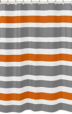 Gray, Orange and White Kids Bathroom Fabric Bath Teen Str... http://www.amazon.com/dp/B00VQGAQSI/ref=cm_sw_r_pi_dp_hiSkxb12Z3737