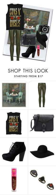 """Untitled #457"" by ak00 ❤ liked on Polyvore featuring Green Leaf Art, Getting Back To Square One, Monki, Jeffree Star and Eos"