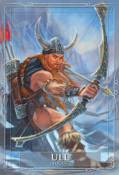 Ull deus da caça e do inverno