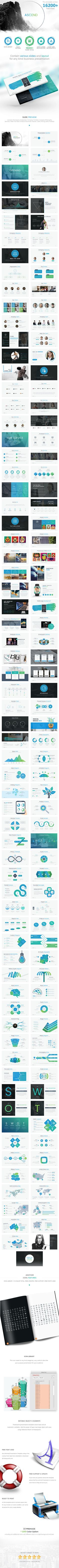 ASCEND - Presentation Templates  #marketing #geometrics #technology • Click here to download ! http://graphicriver.net/item/ascend-presentation-templates/16194083?ref=pxcr