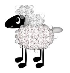 Free Graphics, Printable Paper, Free Images, Sheep, Folk Art, Primitive, Stamping, Minnie Mouse, Printables