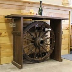 ... Racks Add Western Decor Style to Home Bars - Western Furniture Style