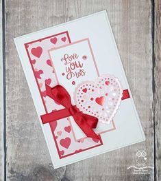 The Paper Players: - A Theme Challenge from Claire Valentine Greeting Cards, Greeting Cards Handmade, Valentine Crafts, Valentines, Heart Cards, Handmade Birthday Cards, Card Sketches, Scrapbook Cards, Scrapbooking
