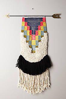 Handwoven Arrow Tapestry