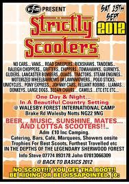 Strictly Scooters, 15th Sept.