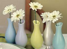 Mini Pastel Favor Vases