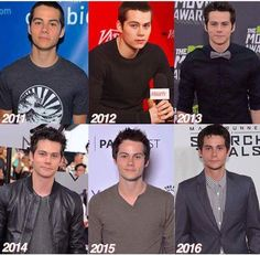 Dylan O'Brien over the years