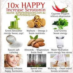 Foods to make you happy!