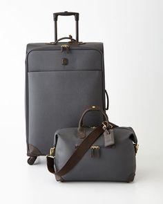 charcoal lattice luggage by brics at neiman marcus - London Fog Luggage