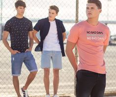 TIFFOSI SUMMER COLLECTION 18 #tiffosi #tiffosidenim #denim #jeans #summer #summerlooks #trend #fashion #style #brand Summer Looks, Summer Collection, Denim Jeans, Polo Shirt, Polo Ralph Lauren, Mens Tops, Shirts, Style, Fashion