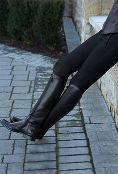 Shop full dressage arenas & equipment, horse jumps, riding arena footing, grooming equipment, and much more at Premier Equestrian. Equestrian Boots, Equestrian Outfits, Equestrian Style, Tall Boots, Outfit Sets, Riding Boots, Heeled Boots, Thighs, Leather Pants