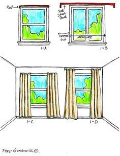 Optical illusion for room look bigger