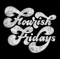 Flourish Fridays on Behance