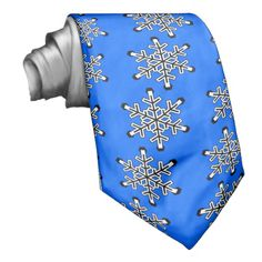 FRACTAL SNOWFLAKE (design 20) ~ Necktie   Original paintings can be found for sale through my Amazon store at: http://www.amazon.com/shops/artmatrix or you can make direct arrangements for them through me. JMO Zazzle designs: http://www.zazzle.com/thewhippingpost?rf=238063263784323237 To help an artist, you can donate here: http://www.gofundme.com/6am6lg