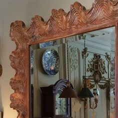 """""""A pair of #driftwood style #handcarved #shell #mirrors new @ 22 Franklin Street #interiordesign #decoration #newportri #rhodeisland #nofilter"""" Photo taken by @newportlampandshadecompany on Instagram, pinned via the InstaPin iOS App! http://www.instapinapp.com (05/23/2015)"""