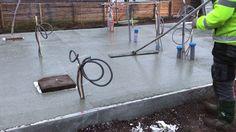 Platta på mark - Gjuta betongplatta