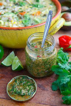 Colombian Hot Sauce (Aji Picante)