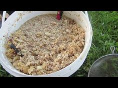 Processing Beeswax Cappings at Home: Process Beewax Fast & Easy - YouTube