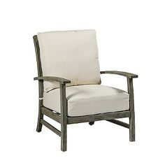 Charleston Teak Lounge Chair with Cushions