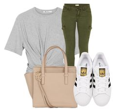"""Untitled #3"" by shayshay20 on Polyvore featuring T By Alexander Wang, Mother, Salvatore Ferragamo and adidas Originals"