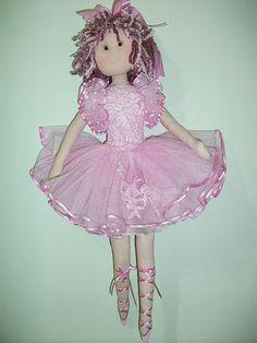 Bailarina de tecido