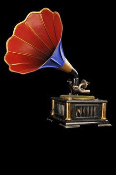 antika gramofon