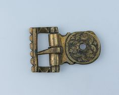 Buckle Date:dated 1535 Culture:German Medium:Brass Modern History, Art History, Medieval Jewelry, Armours, Medieval Armor, Birch Bark, Florence Italy, Renaissance Art, Katana