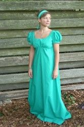 Beautiful Regency Gown