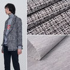 #Fancy tweeds, punto roma... Source at Sewwand.com all kind of materials for your #collection #FeelTheFabric #blazer #jacket #sweater #sporty #elegant #cool #style #fashion #moda #designing #outfit #comfy #vogue #runway #streetstyle #trend #prefall #fall17 #womenswear #fashiondesign #inspiration #FW #model #fashionpost