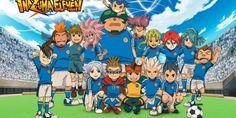 """Mark Evans et son équipe du collège veulent triompher au Football Frontier, """"Inazuma Eleven"""" (2011)"""