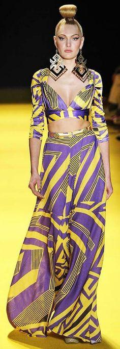 ? André Lima | São Paulo Fashion Week | Brazil Fashion Week 2012 ? http://vogue.globo.com/desfiles/cidade/sao-paulo/andre-lima-sao-paulo-verao-2013/